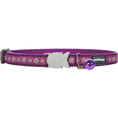 Red Dingo Daisy Chain Cat Collar