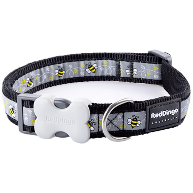 Red Dingo Bumble Bee Dog Collar