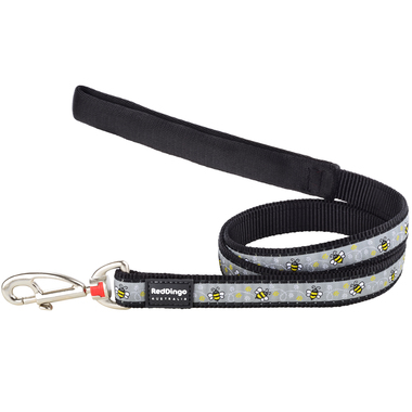 Red Dingo Bumble Bee Dog Lead