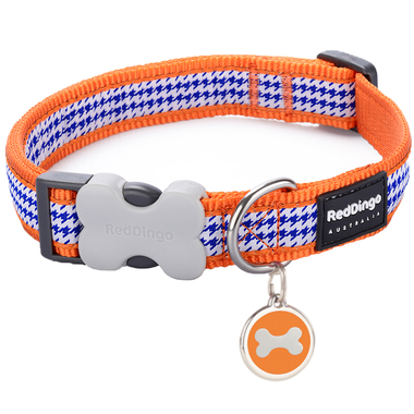 Red Dingo Dogtooth Collar & Tag