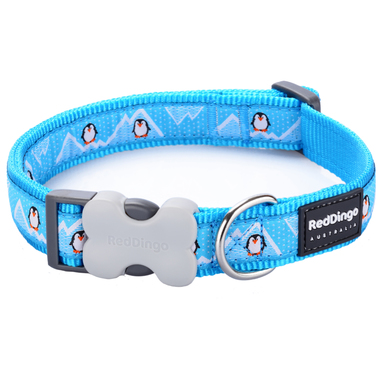 Red Dingo Penguin Dog Collar