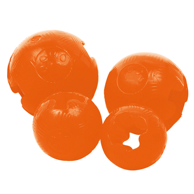 Gloria TPR Rubber Orange Ball