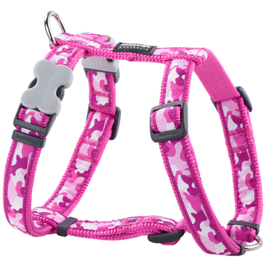 Red Dingo Hot Pink Camouflage Dog Harness