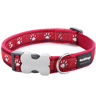 Red Dingo Desert Paw Dog Collar