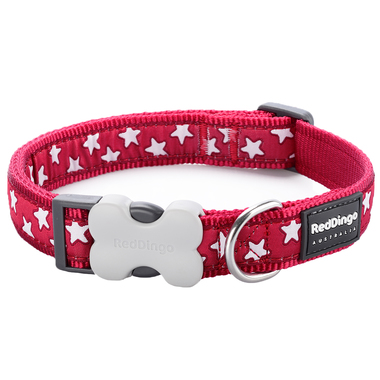 Red Dingo Star Dog Collar