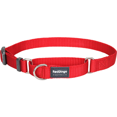 Red Dingo Classic Red Martingale Dog Collar