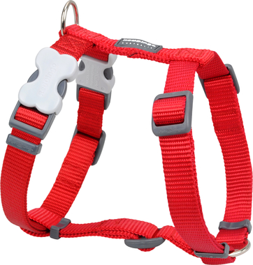 Red Dingo Plain Red Dog Harness