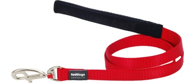 Red Dingo Plain Red 1.2m Dog Lead