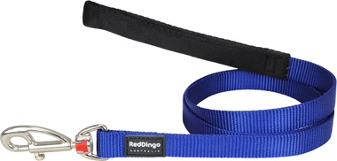 Red Dingo Plain Dark Blue 1.2m Dog Lead