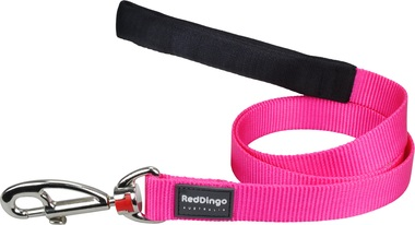 Red Dingo Plain Hot Pink 1.2m Dog Lead