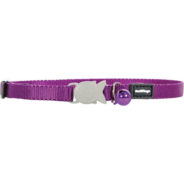 Red Dingo Plain Purple Kitten Collar