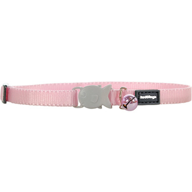 Red Dingo Plain Pink Kitten Collar